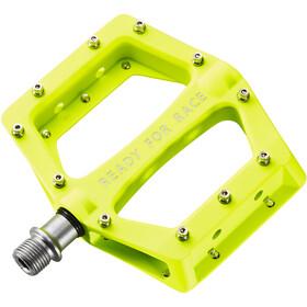Cube RFR Flat Race Pedalen, geel